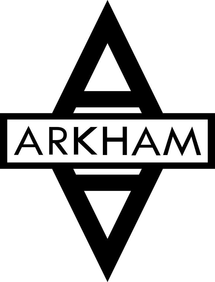 Resultado de imagem para arkham logo