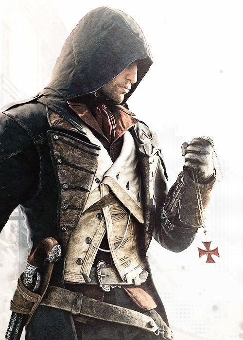Arno Assassin's Creed Unity-i know he's not real, but he's sooo hot!!!!