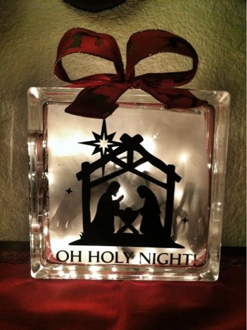 To Enjoy Simply: Lighted Craft Block