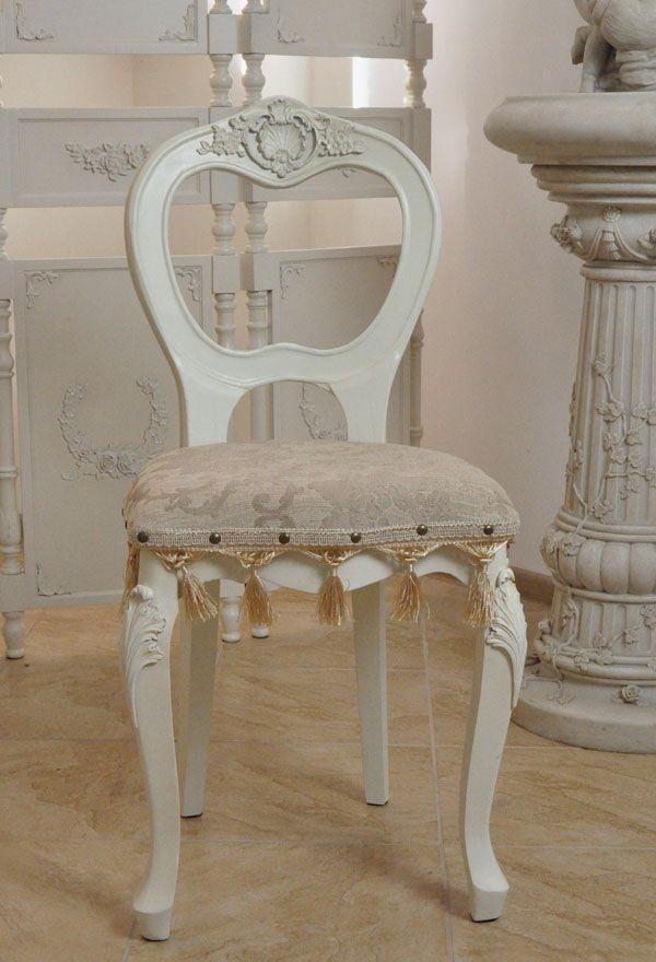 Stylowe Krzesło z Kolekcji Rococo / Stylish Chair with Rococo Collection