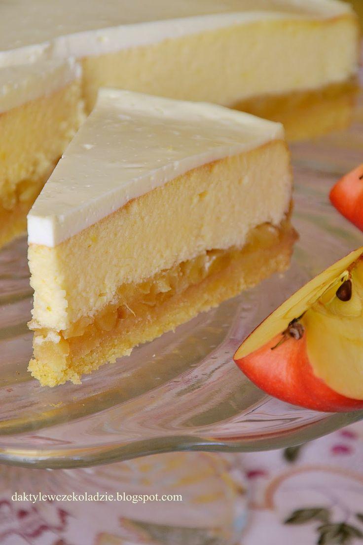 Tort serowo - jabłkowy