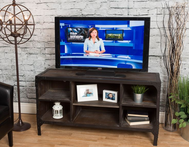 Michael Anthony Distressed Reclaimed Wood Media Console