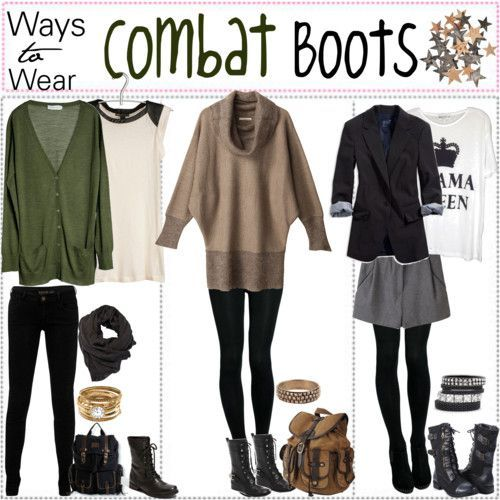 3 Ways to Wear Combat Boots | Outfit Ideas HQ