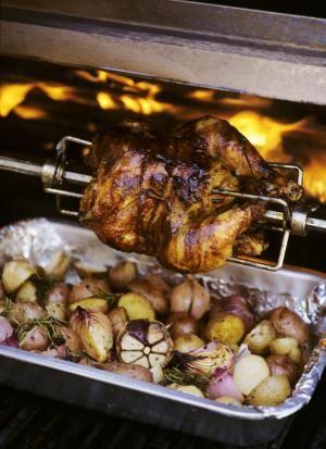 Lemon Herb Rotisserie Chicken - Ellen Silverman/Getty Images