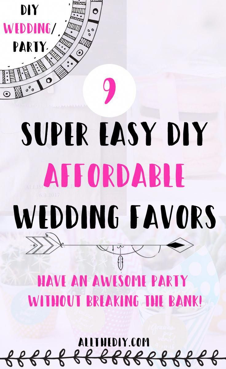 50c9b07a19a 9 Cute and Affordable DIY Wedding Favors Wedding planning season is in full  swing