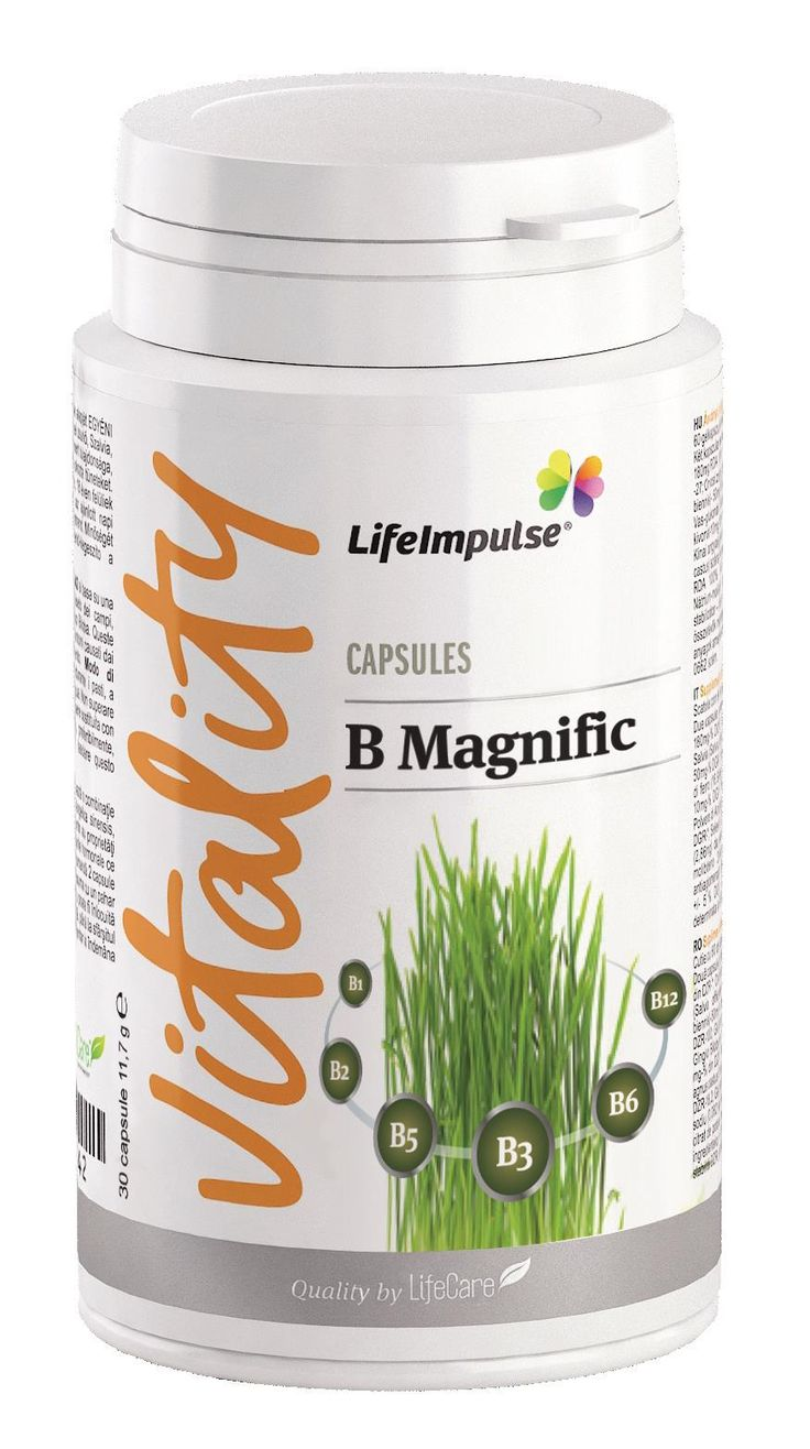 Life Impulse® B Magnific - http://produse.life-care.bio/life-impulse-b-magnific/