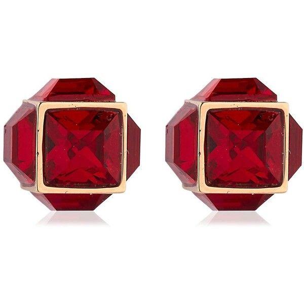 Vita Fede Women Double Cubo Gemma Pearl Earrings ($765) ❤ liked on Polyvore featuring jewelry, earrings, vita fede, vita fede jewellery, pearl earrings jewellery, pearl jewelry and pearl jewellery