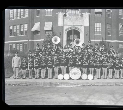 The Winchester High School Marching Band, Winchester, Kentucky, 1939