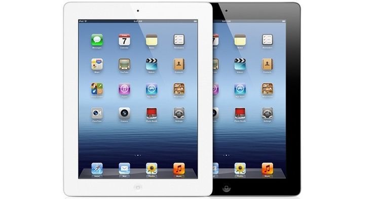Apple iPad 4 with Retina Display and Wi-Fi (16GB, 4th Gen) - Black or White  #plugsterpintowinit