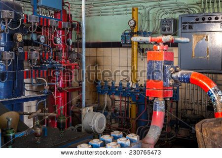 installation where there are tests on high pressure tested