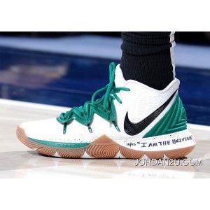 "info for f32b5 73000 Nike Kyrie 5 ""Celtics"" PE White Green Kyrie Irving"