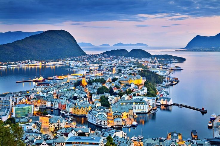 #Alesund #Norway #smalltowns
