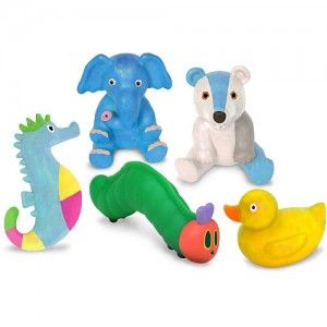 Adorable bath toys for the little set. #bathtoys
