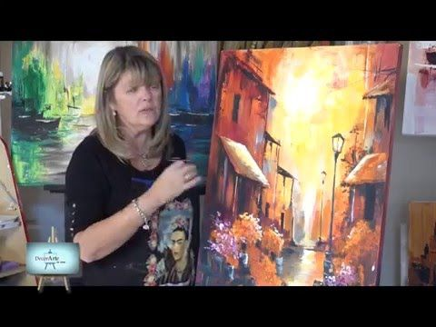 Frank Clarke shows you how to paint with acrylics. And Frank shows you how to paint an acrylic scene --------------------------------------------------------...
