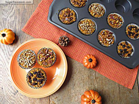 personalized pumpkin baked oatmeal