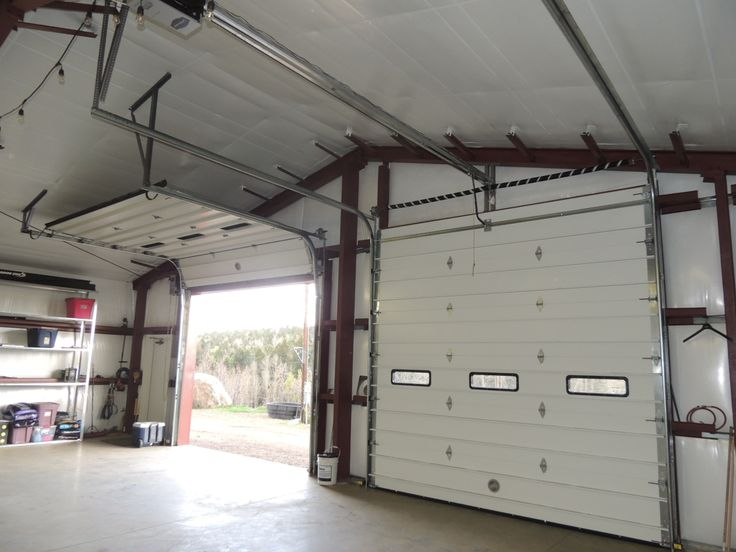 13 Best Images About Metal Building Doors On Pinterest: large garage door sizes