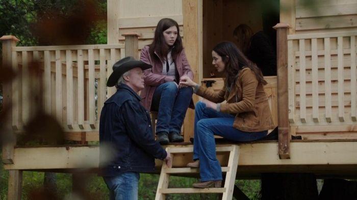 Georgie Katie Ziya Matheson Lou Tim Heartland Family Drama
