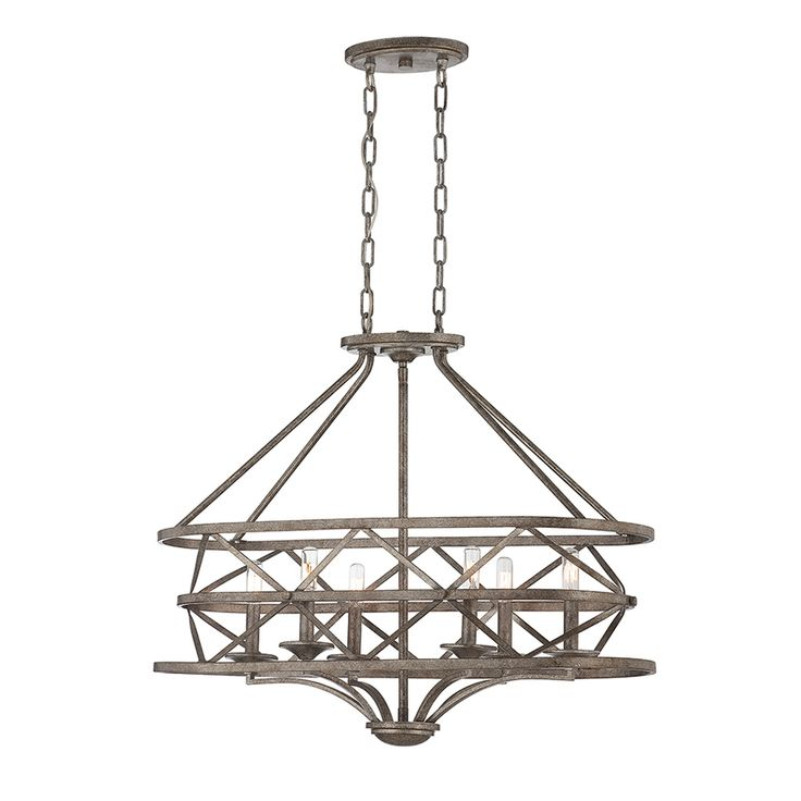 savoy house lamps rail 6 light oval chandelier industrial style usa product available - Savoy Lighting