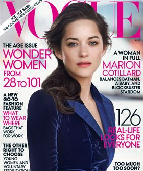 Marion Cotillard Covers Vogue's Age Issue, Does Not Look 36