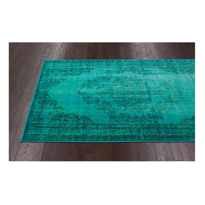 Lydia Rug in Turquoise - On the Bohemian Path on Joss & Main
