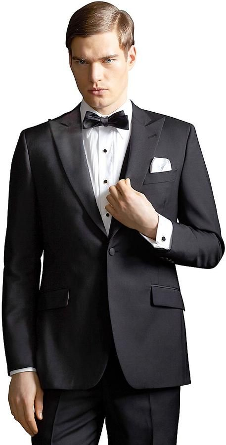 The Great Gatsby Collection Peak Lapel Tuxedo Jacket