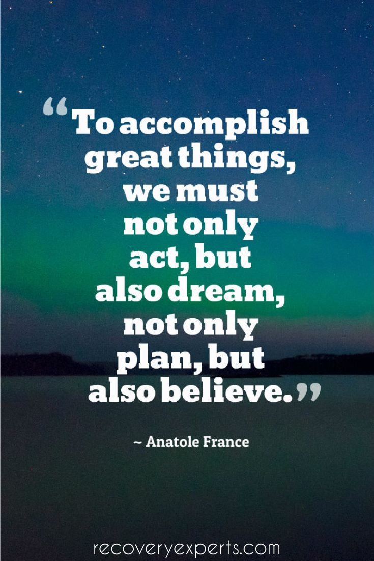 Motivational Quotes: To Accomplish Great Things, We Must