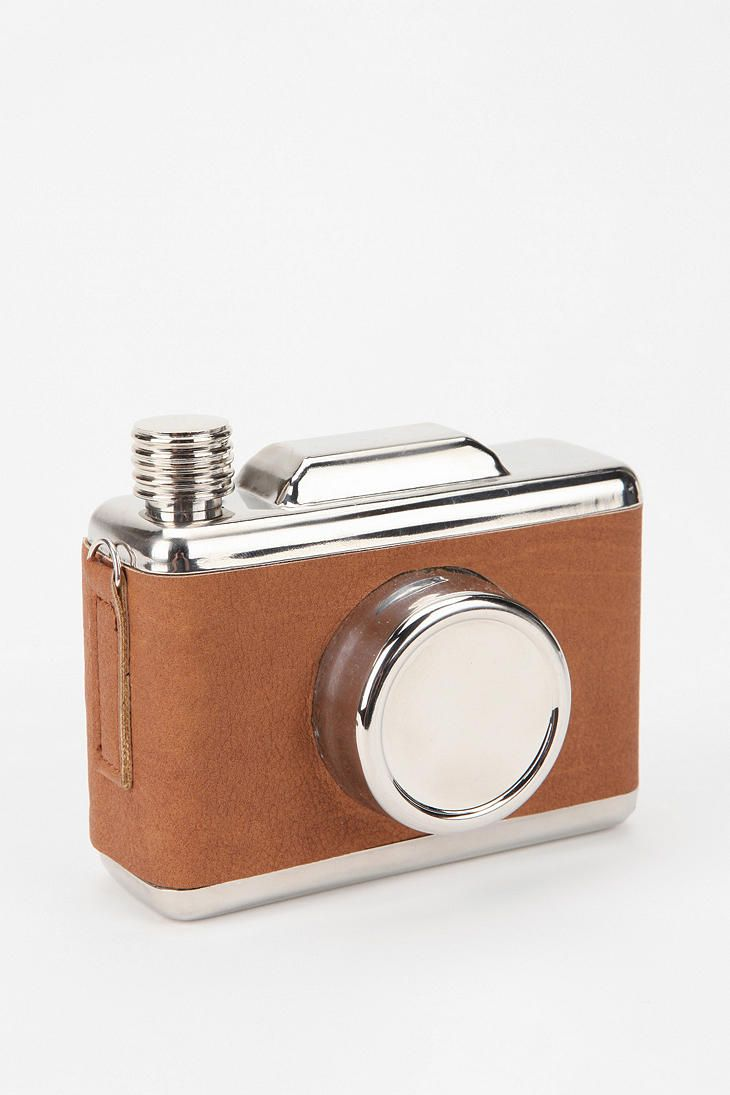 Camera Flask! <3 i want this!
