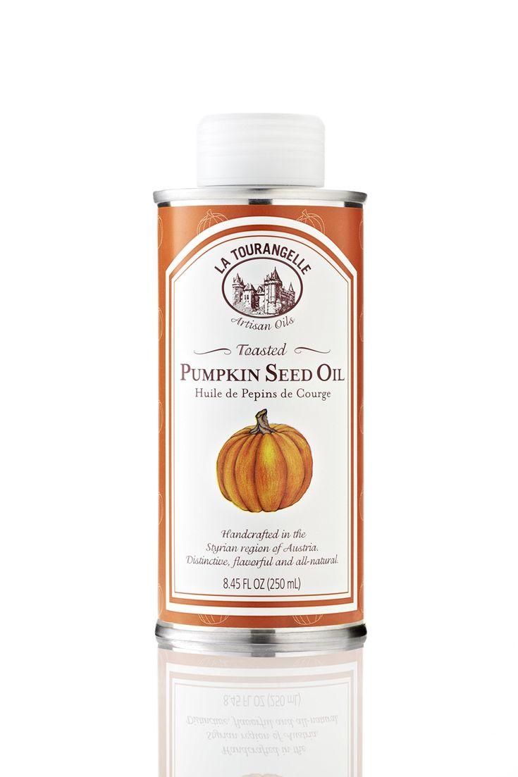 Amazon.com : La Tourangelle Toasted Pumpkin Seed Oil, 8.45 Ounce Tins : Vegetable Oils : Grocery & Gourmet Food