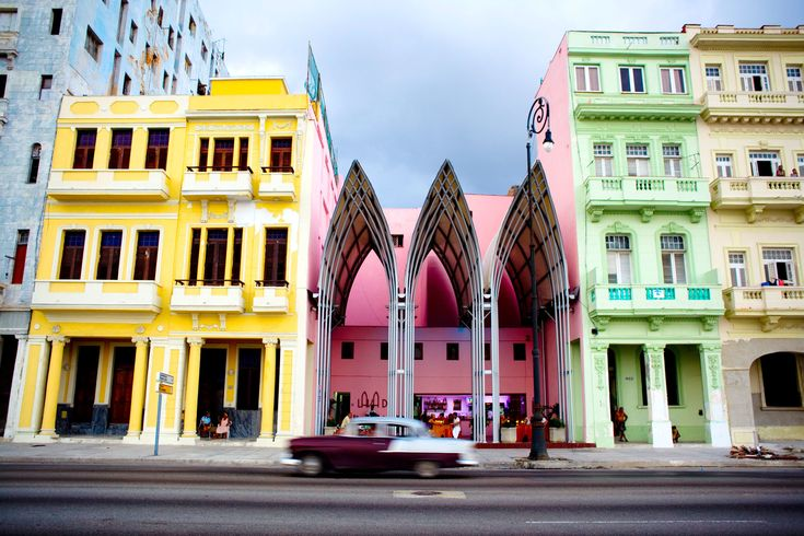 14 Beautiful Buildings Radiate Color in Cuba Photos | Architectural Digest