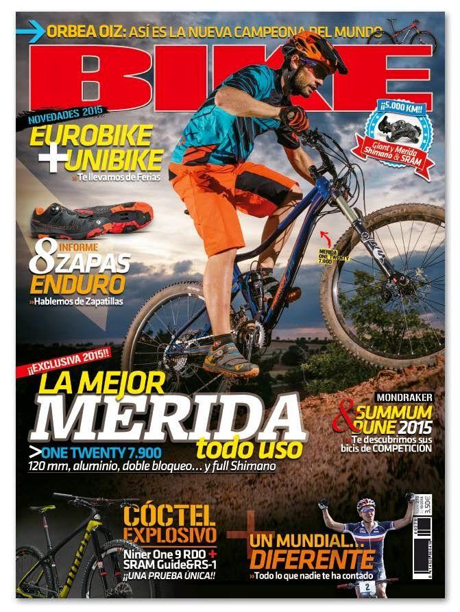 MOUNTAIN BIKE Y MAS: REVISTAS OCTUBRE 2014