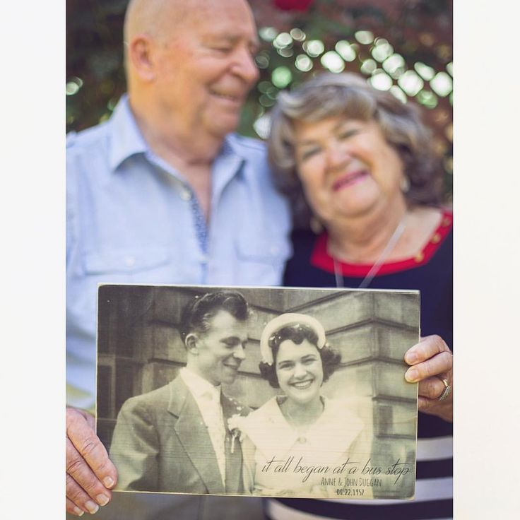 60th Anniversary Photo | Old Photo in New Photo | Brynnstone Photography
