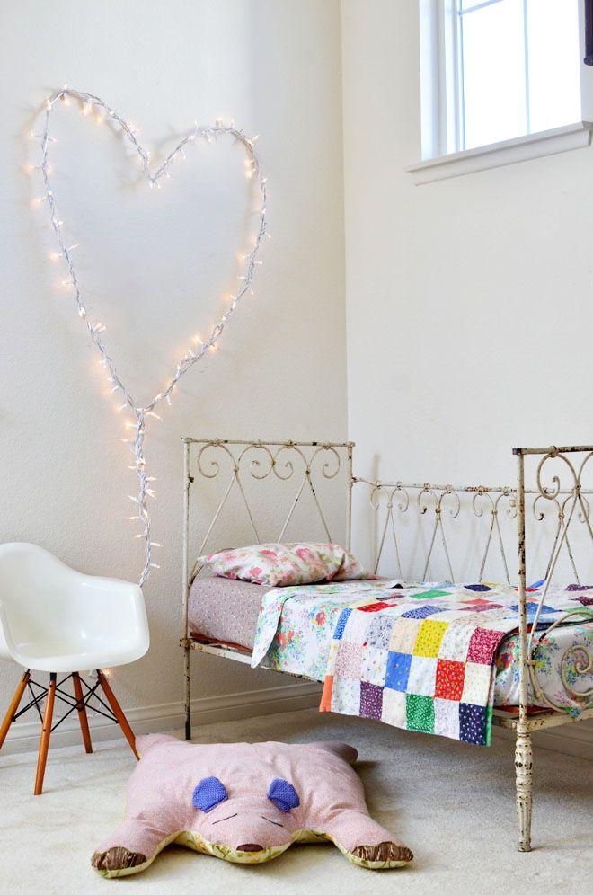 heart light in child's room