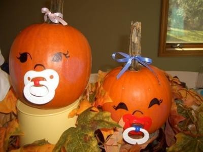 pumpkin ninos.  Great for a October baby shower.