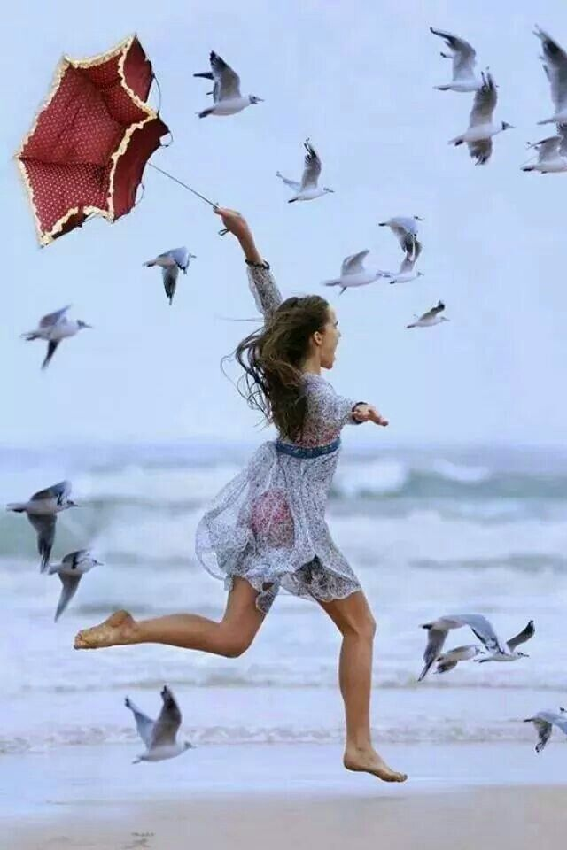 Running barefoot on the beach... | Fantasy... Beauty