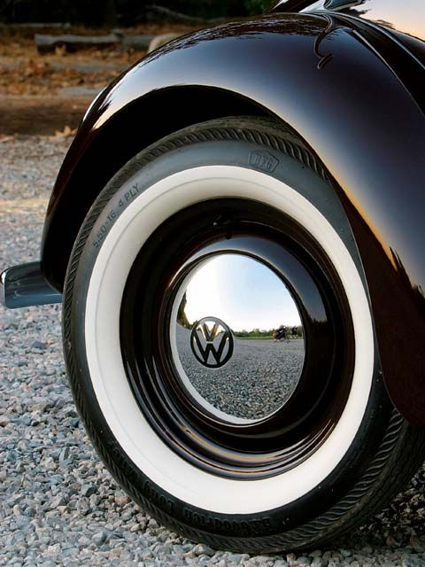 Vw Beetle Wheels And Whitewall Tires Beetle Mania