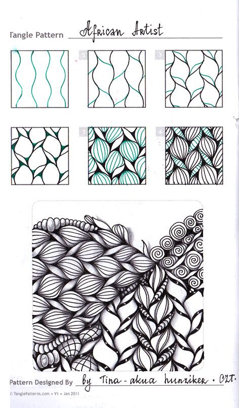 Zentangle, zendala & Doodling. - Виктория Власова - Веб-альбомы Picasa