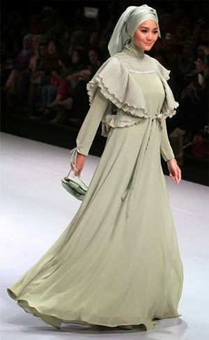 Gaun Pesta Muslimah Modern 2014   Toko Online jual jilbab