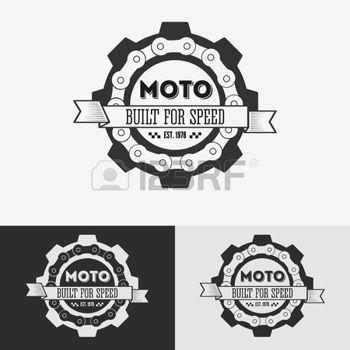 creation logo motard