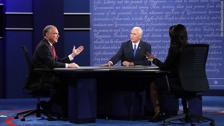 Tuesday night's vice presidential debate had a smaller audience than the presidential debate according to overnight Nielsen ratings. Nielsen's ratings do not include live-streaming but the concurrent viewership on YouTube was simply a fraction compared to the Trump/Clinton debate.