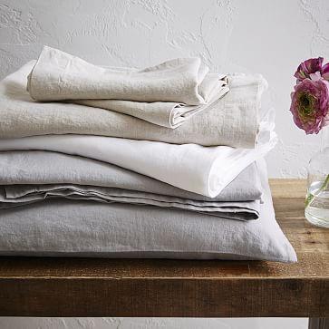 Belgian Linen Sheet Set #westelm