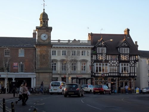 Rugby Clock Tower - my home town