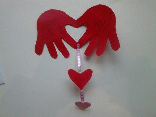Valentijnskaart voor papa en mama