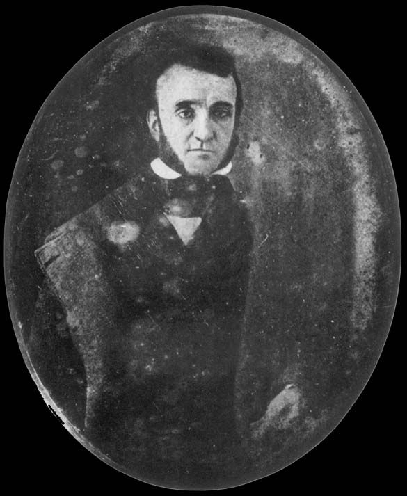 Daguerreotype portrait of Edgar Allan Poe, 1842. It is believed to be the earliest known photograph of him