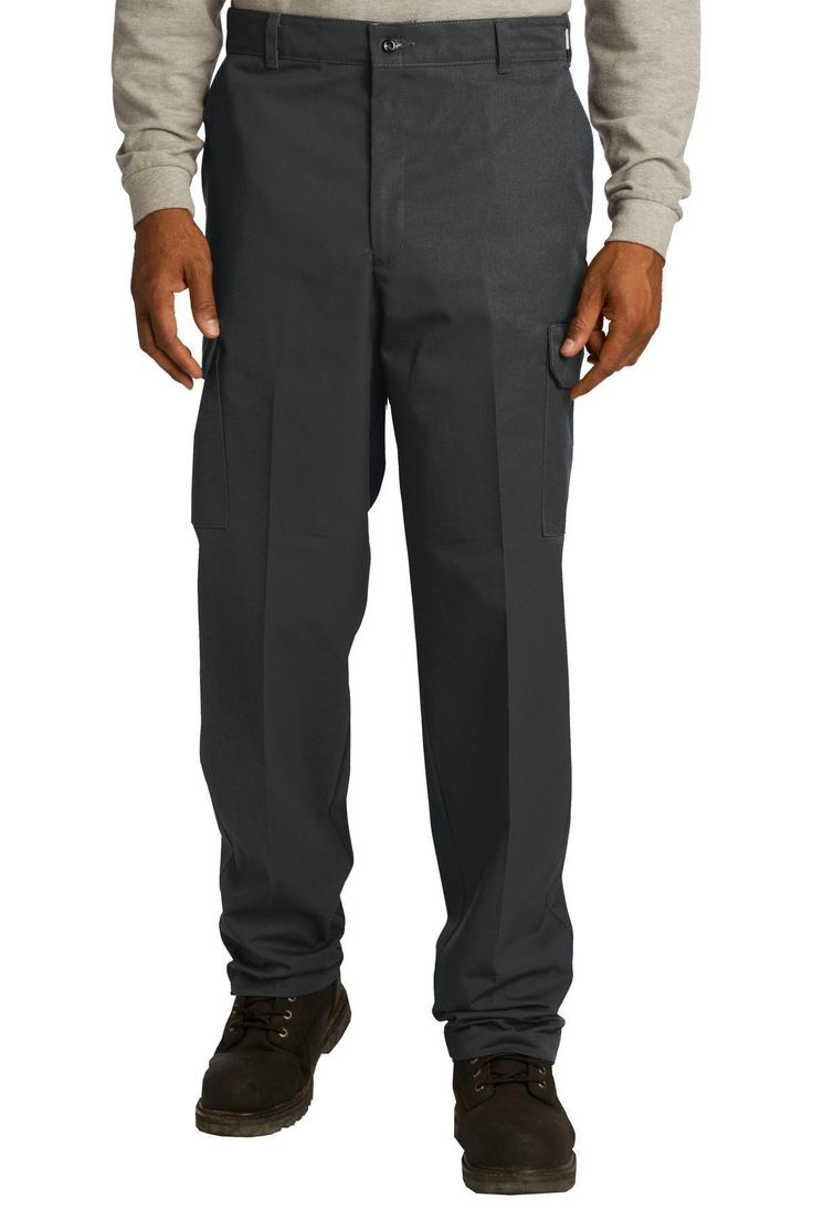 Red Kap Industrial Cargo Pant. PT88 Charcoal / 4236