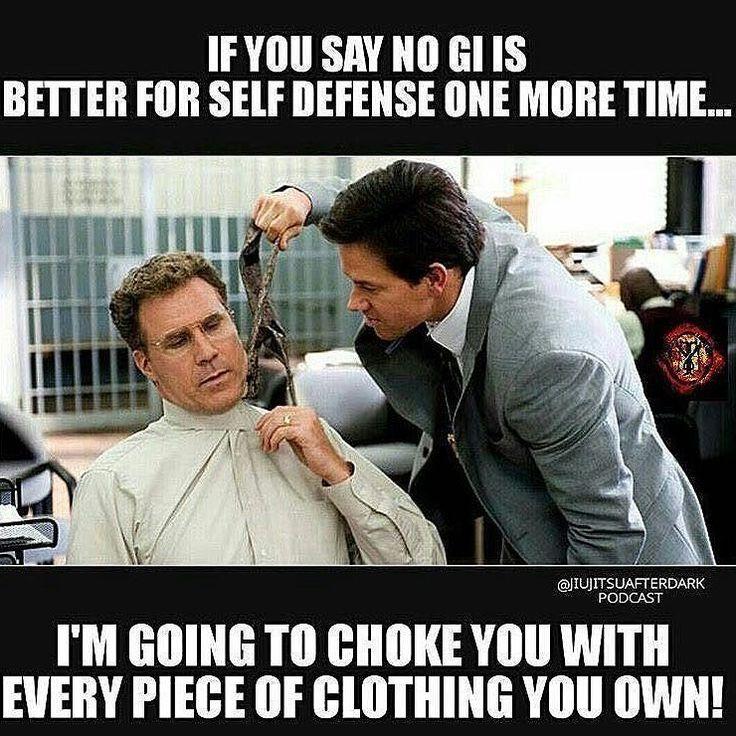 #Bjj guys be like.. в #бжж парни бывают.. Если ты ещё раз скажешь что #nogi (ноги=тхэквондо)) лучше для самозащиты я буду душить тебя каждым клочком твоей одежды! =) будьте одеты с #tusah друзья)