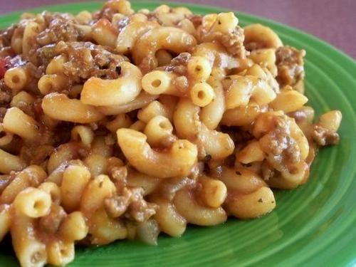 Texas Recipes-Cowboy Goulash!