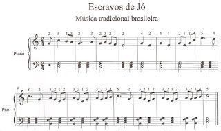 ALFABETIZAÇÃO E MUSICALIZAÇÃO INFANTIL: Partituras para piano
