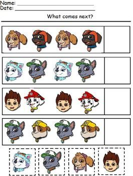 Paw Patrol Worksheets                                                                                                                                                                                 More