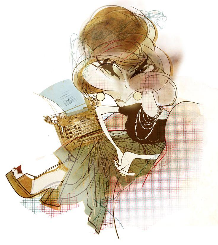 As 15 melhores caricaturas de Clarice Lispector - NotaTerapia