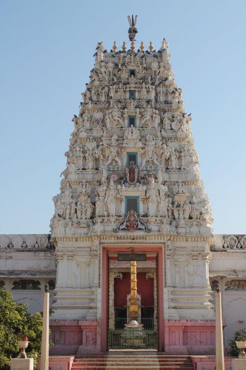 Hindu temple at pushkar.
